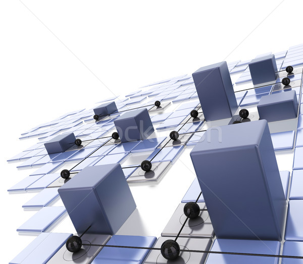 local area network - LAN Stock photo © olivier_le_moal