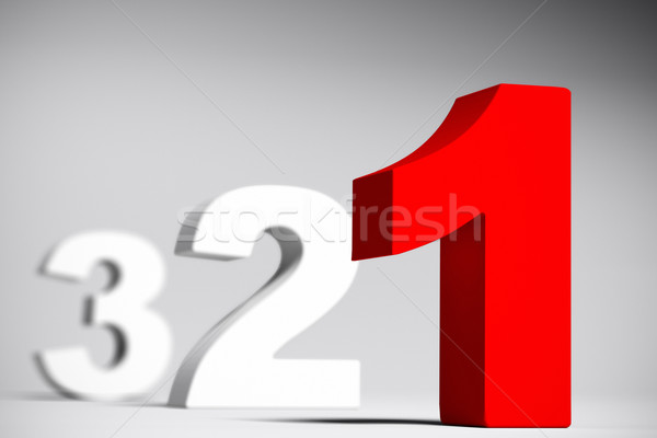 Countdown, Three Two One Stock photo © olivier_le_moal