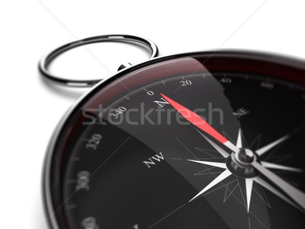 Bússola agulha indicação norte direção Foto stock © olivier_le_moal