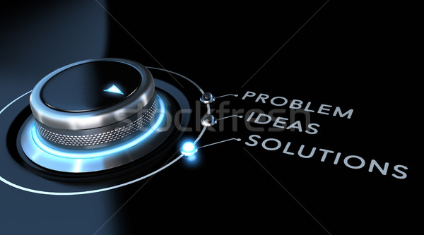 Solution Concept Stock photo © olivier_le_moal