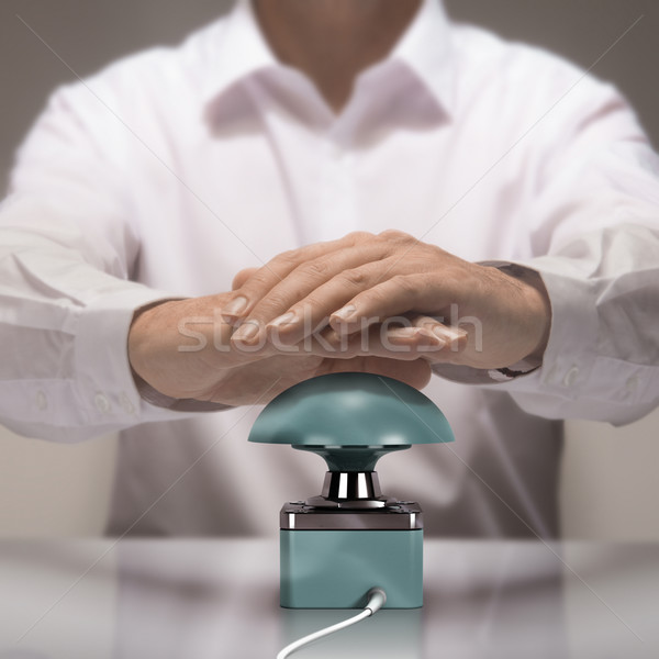 Quiz Game Buzzer Stock photo © olivier_le_moal