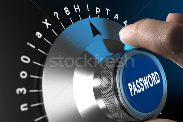 Secured and Safe Password Stock photo © olivier_le_moal