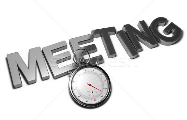Speed Meeting Concept Stock photo © olivier_le_moal