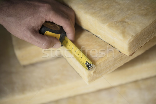 Thermal Insulation, Glass Wool Stock photo © olivier_le_moal