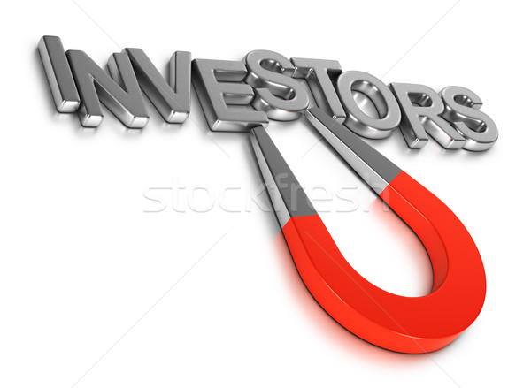 Attract New Investors by Crowdfunding or Business Angels to Star Stock photo © olivier_le_moal