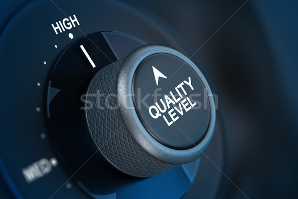 Total Quality Management Customer Satisfaction Concept Stock photo © olivier_le_moal