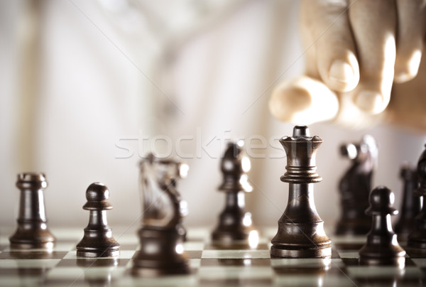 Chess player Stock photo © olivier_le_moal