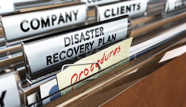 DRP, Disaster Recovery Plan Stock photo © olivier_le_moal