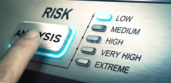 Risks analyze, low risk  Stock photo © olivier_le_moal