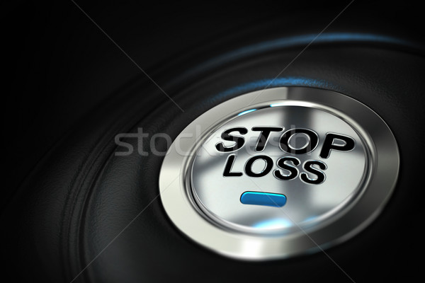 Stop loss, trading concept Stock photo © olivier_le_moal