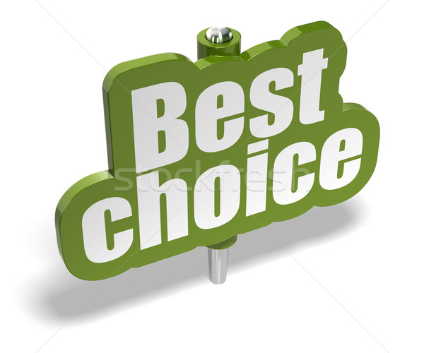 best choice marker Stock photo © olivier_le_moal