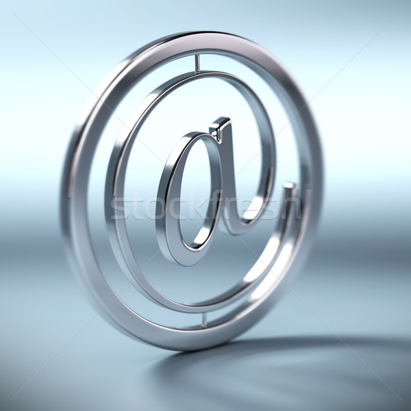 at symbol, email sign Stock photo © olivier_le_moal