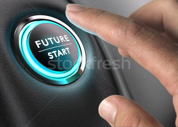 The Future is Now, Strategic Vision Stock photo © olivier_le_moal