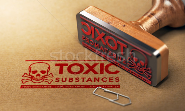 Hazardous Substances, Chemical Toxicity Information Stock photo © olivier_le_moal