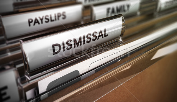 Dismissal Concept. Redundancy Plan Stock photo © olivier_le_moal