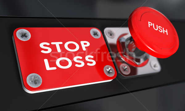 Stop Loss, Trading. Stock photo © olivier_le_moal