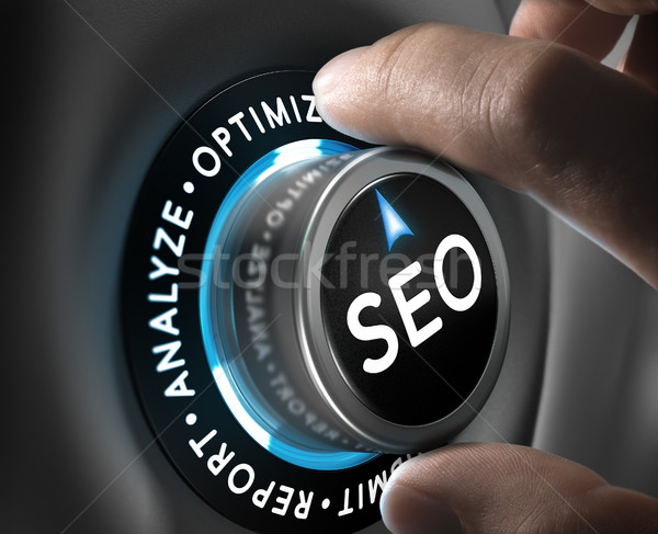 SEO Plan Concept Stock photo © olivier_le_moal