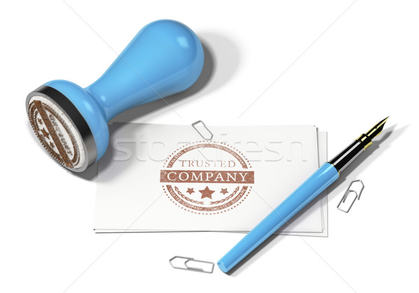 Trusted Company Stock photo © olivier_le_moal