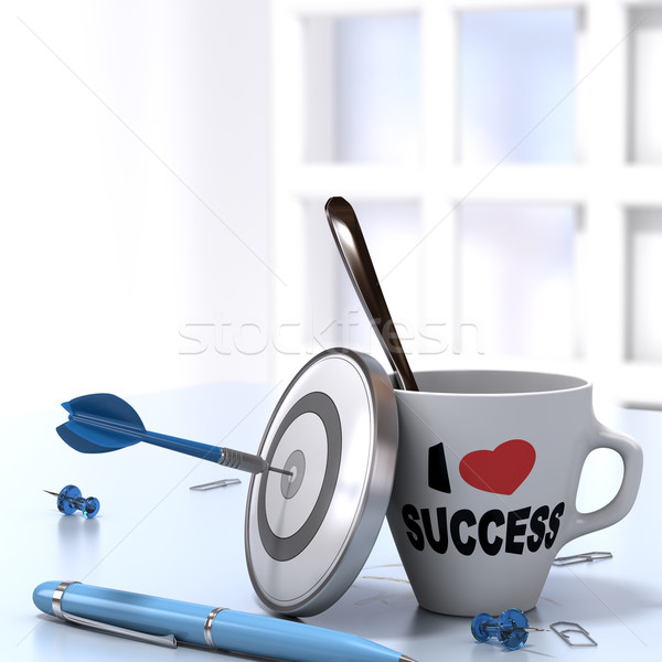Successful Executive Concept Stock photo © olivier_le_moal