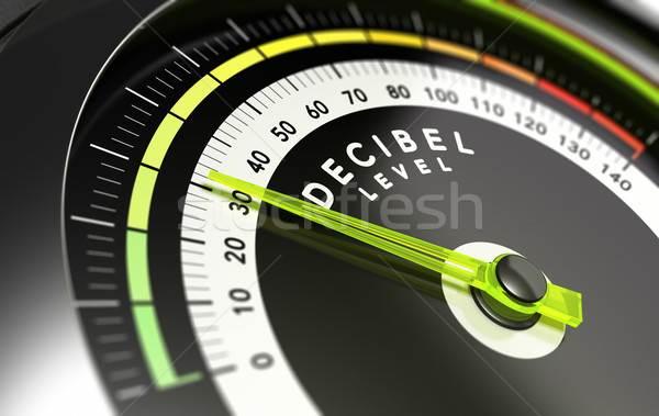 Decibel level, dB Stock photo © olivier_le_moal