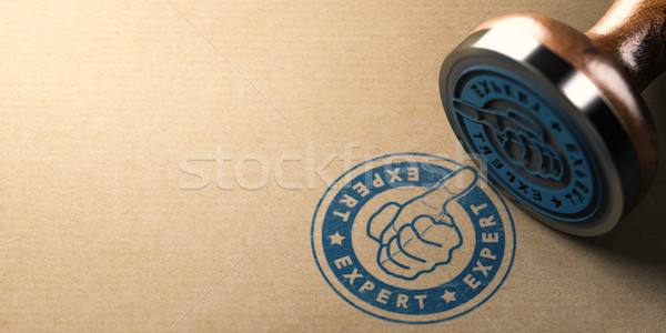 Professional Moving Company, Expert Label with Thumb Up  Stock photo © olivier_le_moal