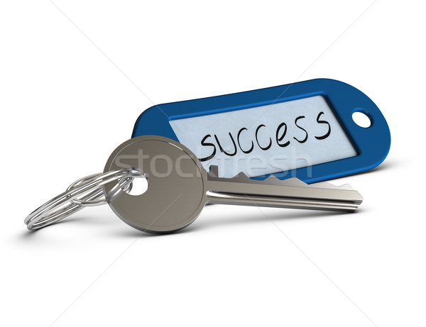 key of success Stock photo © olivier_le_moal