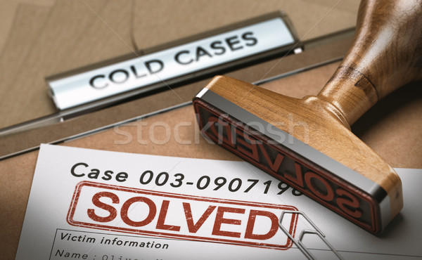 Cold Case Solved, File Closed  Stock photo © olivier_le_moal