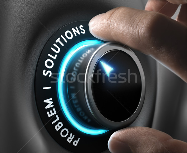 Business Solutions Stock photo © olivier_le_moal
