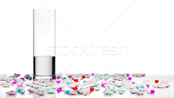 Too Many Pills, Overmedication Stock photo © olivier_le_moal