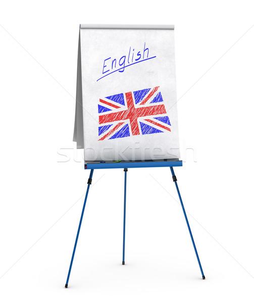 learning english language Stock photo © olivier_le_moal