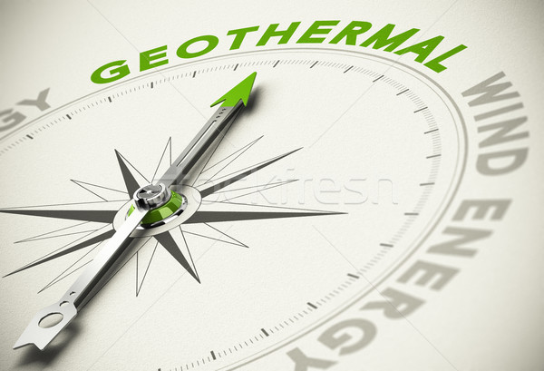 Choice - Geothermal Concept Stock photo © olivier_le_moal