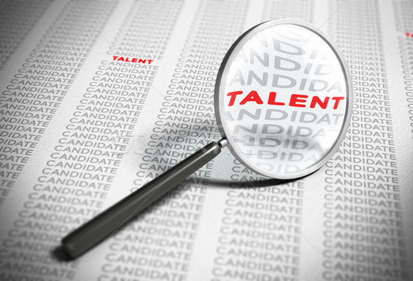 Searching for Talents - Recruitment Concept Stock photo © olivier_le_moal