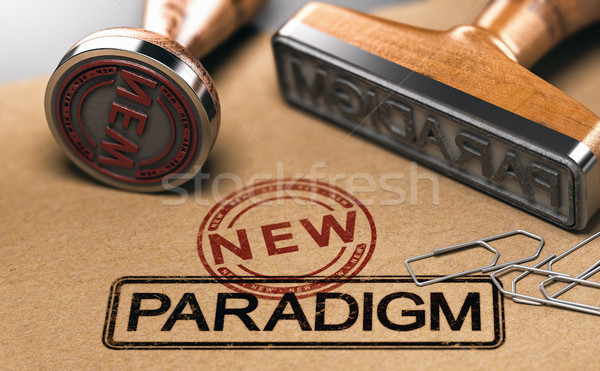 Paradigm change, new theory Stock photo © olivier_le_moal