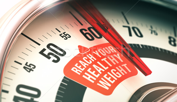 Healthy Weight Stock photo © olivier_le_moal