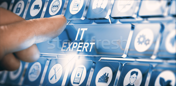 IT Expert, Information Technology Advice or Services Stock photo © olivier_le_moal