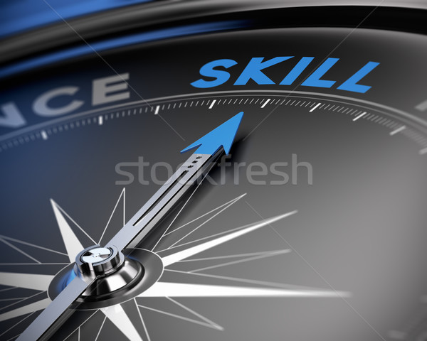 Skill Concept, Training Stock photo © olivier_le_moal