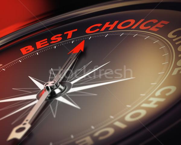Vida opciones decisión ayudar brújula aguja Foto stock © olivier_le_moal