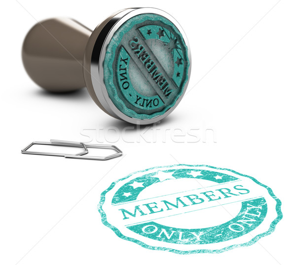 Membership, Members Only Stock photo © olivier_le_moal