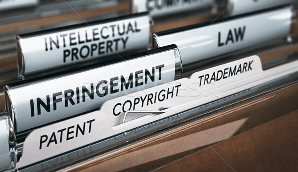 Intellectual Property Rights, Copyright, Patent or Trademark Inf Stock photo © olivier_le_moal