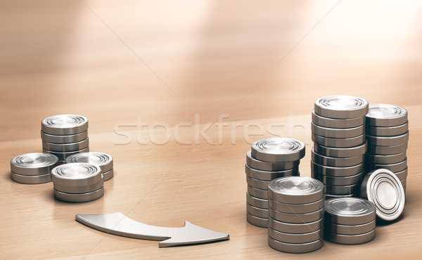 ROI, Very Profitable Investment Background Stock photo © olivier_le_moal