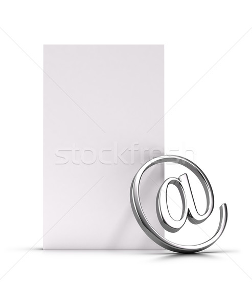 Newsletter or Email Stock photo © olivier_le_moal