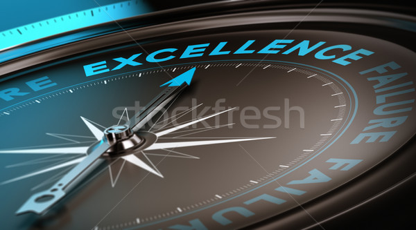 Excellence Concept, Quality Service Stock photo © olivier_le_moal
