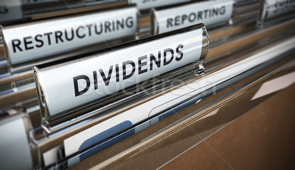 Dividends Stock photo © olivier_le_moal