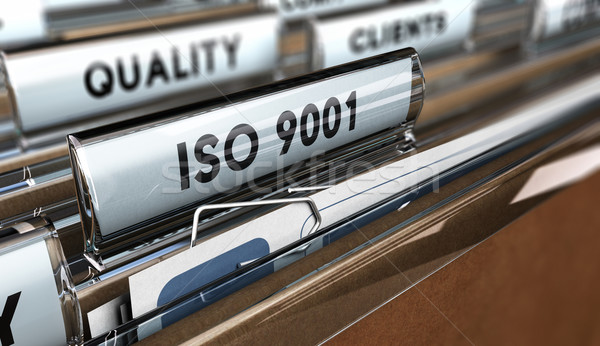 Quality Standards ISO 9001 Stock photo © olivier_le_moal