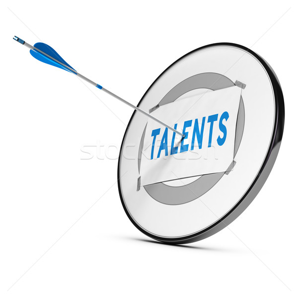 Talent Recruitment or Acquisition. Concept Stock photo © olivier_le_moal