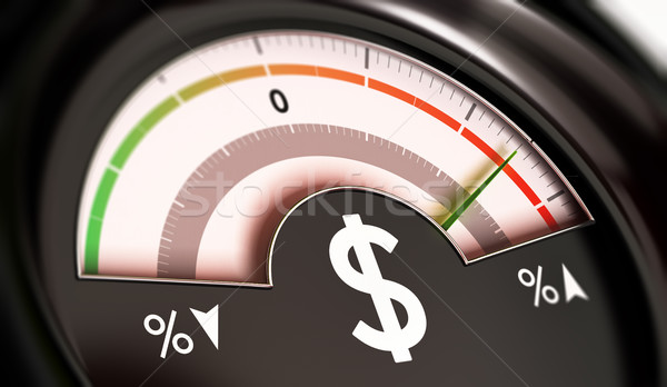Rising Prices Concept or Inflation of Dollar Currency Stock photo © olivier_le_moal