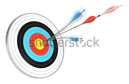 target shooting - goal or objectives Stock photo © olivier_le_moal