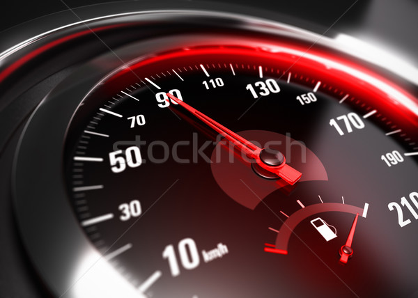 Reducing Speed Safe Driving Concept Stock photo © olivier_le_moal