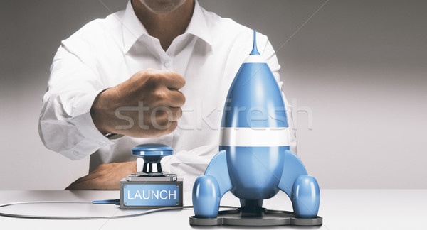 Stock photo: Company Startup or New Product Launch