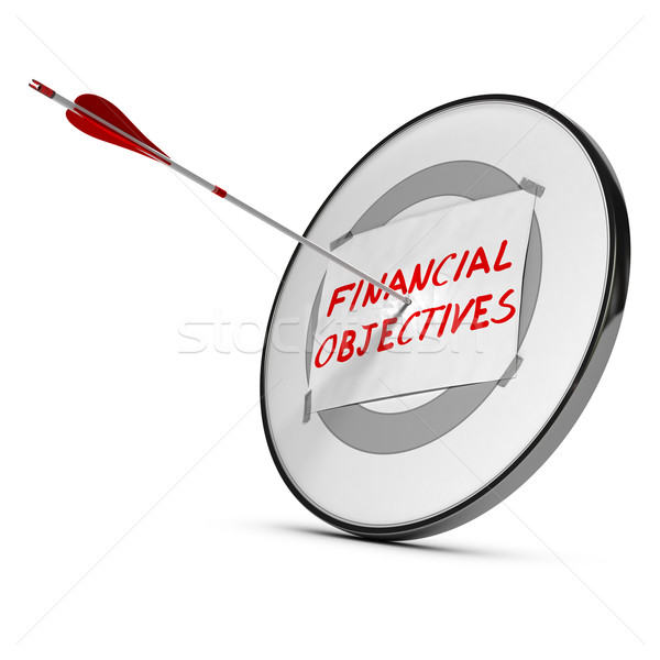 Achieving Financial Objectives Concept Stock photo © olivier_le_moal